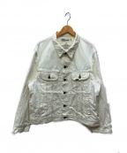 DAIRIKU(ダイリク)の古着「デニムジャケット」 ホワイト