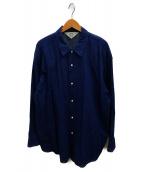 SUNSEA(サンシー)の古着「デニムウエスタンシャツ」|インディゴ
