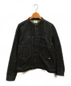 STABILIZER GNZ(スタビライザージーンズ)の古着「スタンドカラージャケット」|ブラック