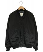 MONKEY TIME(モンキータイム)の古着「MA-1ブルゾン」|ブラック