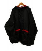 NIKE(ナイキ)の古着「90'sヴィンテージフルジップナイロンパーカー」|ブラック