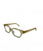 白山眼鏡店(ハクサンガンキョウテン)の古着「クリアフレーム眼鏡」 クリア