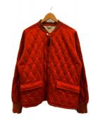 FILL THE BILL(フィルザビル)の古着「レスキューコート」 オレンジ