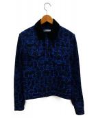 ()の古着「スタープリントデニムジャケット」|インディゴ