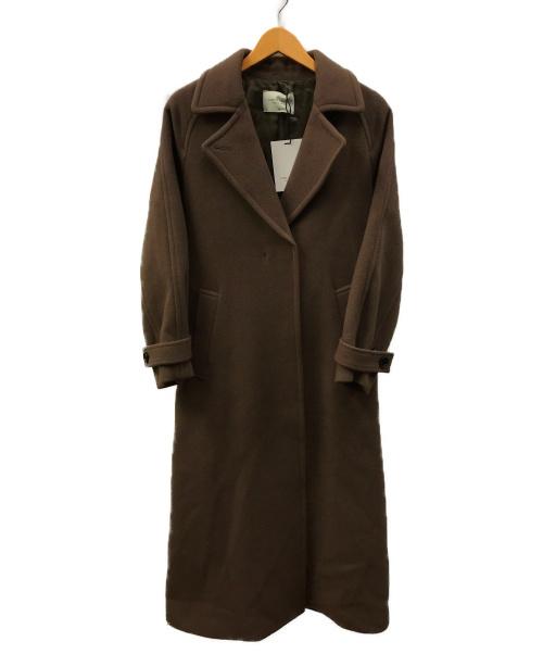 PUBLIC TOKYO(パブリックトウキョウ)PUBLIC TOKYO (パブリックトウキョウ) カシミヤコントレンチコート グレー サイズ:2  700551004の古着・服飾アイテム