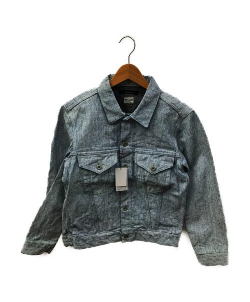 JOHNBULL(ジョンブル)Johnbull (ジョンブル) ワンウォッシュデニムジャケット ブルー サイズ:S 未使用品 12591の古着・服飾アイテム