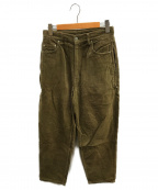 SSZ(エスエスズィー)の古着「横コードパンツ」|グレー