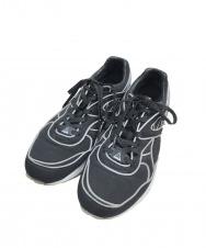 PUMA TRINOMIC R698 X ICNY (プーマ トライノミックR698×アイス コールド ニューヨーク) スニーカー ブラック サイズ:27 R698 35856101