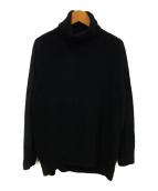 ()の古着「CAPRI タートルネックプルオーバー」|ブラック