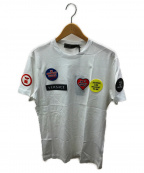 VERSACE(ヴェルサーチ)の古着「限定ワッペンTシャツ」|ホワイト