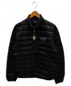EMPORIO ARMANI EA7(エンポリオアルマーニ イーエーセブン)の古着「ダウンジャケット」|ネイビー