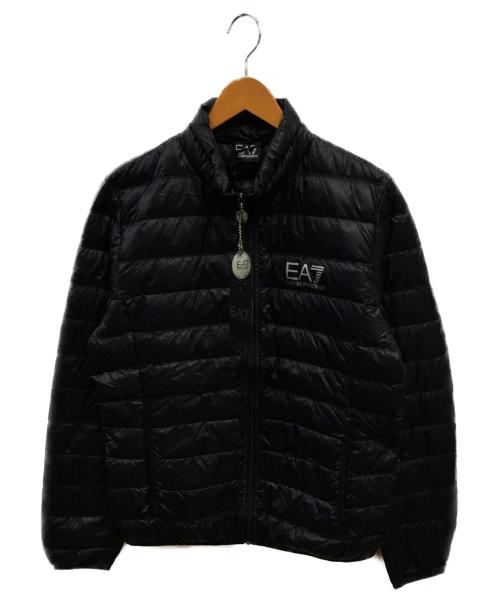 EMPORIO ARMANI EA7(エンポリオアルマーニEA7)EMPORIO ARMANI EA7 (エンポリオ アルマーニ イーエーセブン) ダウンジャケット ネイビー サイズ:M 8npb01 pn29zの古着・服飾アイテム