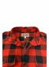 中古・古着 A BATHING APE (アベイシングエイプ) フランネルチェックシャツ レッド サイズ:M:5800円