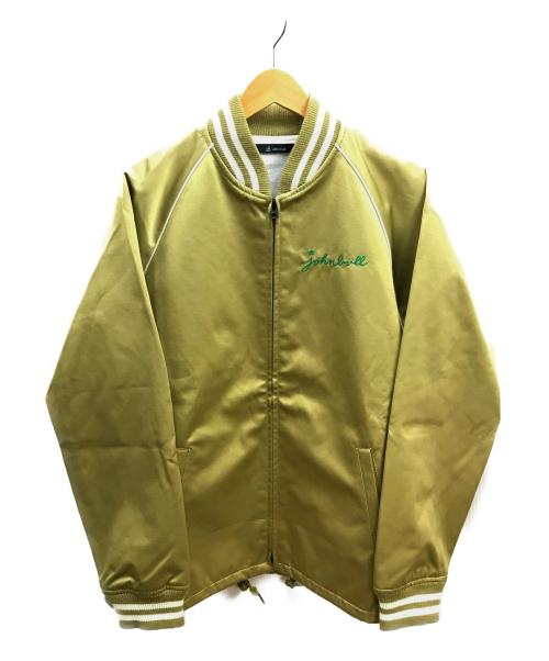 JOHNBULL(ジョンブル)Johnbull (ジョンブル) サテンブルゾン ベージュ サイズ:M 12566の古着・服飾アイテム