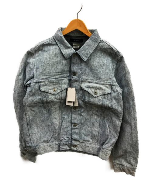 JOHNBULL(ジョンブル)Johnbull (ジョンブル) ワンウォッシュデニムジャケット ブルー サイズ:L  12591の古着・服飾アイテム