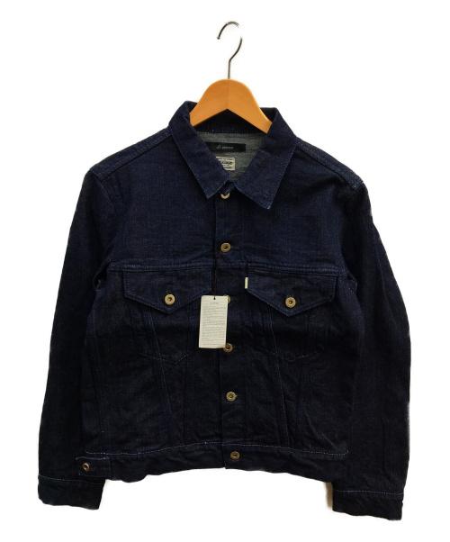 JOHNBULL(ジョンブル)Johnbull (ジョンブル) ワンウォッシュデニムジャケット インディゴ サイズ:S 12591の古着・服飾アイテム