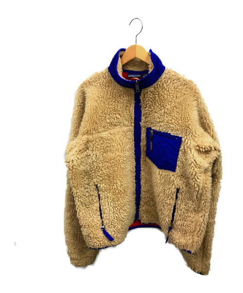 Patagonia(パタゴニア)Patagonia (パタゴニア) クラシックレトロXカーディガン ベージュ サイズ:Mの古着・服飾アイテム
