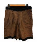 cilk()の古着「シルク混ショーツ」|ブラウン