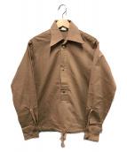 LEVIS(リーバイス)の古着「70sヴィンテージプルオーバーシャツ」|ベージュ