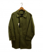 SANYO(サンヨー)の古着「ベンタイルOXステンカラーコート」|カーキ
