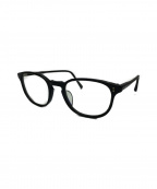OLIVER PEOPLES(オリバーピープルズ)の古着「ボストンフレーム伊達眼鏡」 ブラック