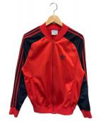 adidas(アディダス)の古着「80s ATPトラックジャケット」|レッド