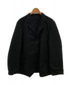 ()の古着「ヴェストゥ リュールリバーシブルジャケット」|ブラック