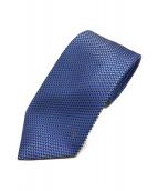 ()の古着「マイクロVネクタイ」|ブルー