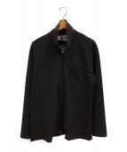 BASISBROEK(バージスブルック)の古着「ナイロンストレッチブルゾン」|ブラウン