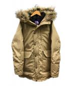 ()の古着「65/35ベイヘッドクロス ロングセローダウンコート」|ベージュ