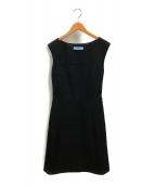 PRADA(プラダ)の古着「ノースリーブワンピース」|ブラック