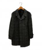 HEVO(イーヴォ)の古着「ウィンドペンチェスターコート」|グレー