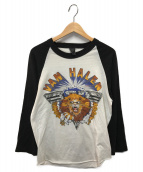 VAN HALEN(ヴァンヘイレン)の古着「80sラグランカットソー」|ホワイト