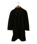 JOHNBULL()の古着「サーモライトオーバーコート」 ブラック