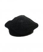 Porter Classic(ポータークラシック)の古着「刺し子ベレー1」|ブラック