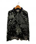LEONARD(レオナール)の古着「ポロシャツ」|ブラック