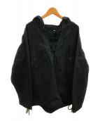 HYKE(ハイク)の古着「コットンデッキパーカージャケト」|ブラック