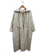 CLANE(クラネ)の古着「オーバーモッズコート」|ホワイト