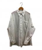 SEEALL(シーオール)の古着「オーバーサイズドワークシャツ」 ホワイト