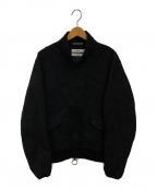 OAMC(オーエーエムシー)の古着「ジャガードジャケット」|ブラック