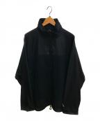 Comfy Outdoor Garment(コンフィーアウトドアガーメンツ)の古着「シェルジップティー」|ブラック