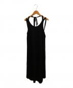 ELIN(エリン)の古着「ジャージータンクトップドレス」|ブラック