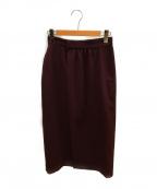 G.V.G.V()の古着「ラップスカート」|バーガンディー