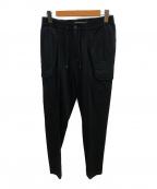 giabs ARCHIVIO ×LARDINI()の古着「スペースフィットストレッチカーゴパンツ」|ブラック