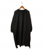 OUTIL(ウティ)の古着「ローブワンピース」 ブラック
