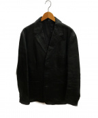 GAP(ギャップ)の古着「00sオールドレザージャケット」|ブラック
