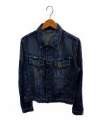 NUDIE JEANS(ヌーディジーンズ)の古着「テリーデニムジャケット」|インディゴ