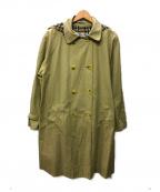 Burberrys()の古着「[OLD]90sヴィンテージフーデッドコート」|ベージュ