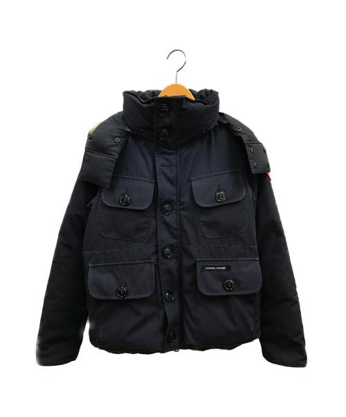 CANADA GOOSE(カナダグース)CANADA GOOSE (カナダグース) ラッセルパーカ ネイビー サイズ:S  2301JM R RUSSELL PARKAの古着・服飾アイテム