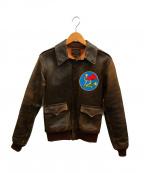 THE REAL McCOYS(ザ リアルマッコイズ)の古着「A2ホースレザーフライトジャケット」 ブラウン